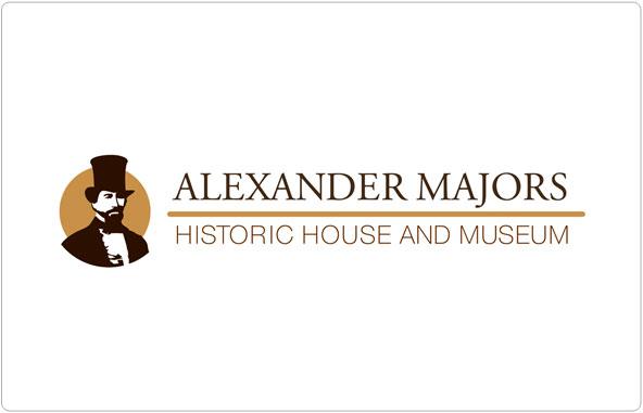 Alexander Majors Logo Design