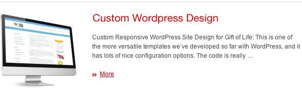 Wordpress Web Design by JDL Studio Design