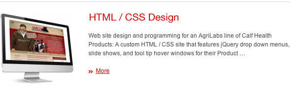 Custom Web Design HTML - CSS JDL Studio Design