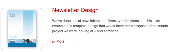 JDL Studio Newsletter Design