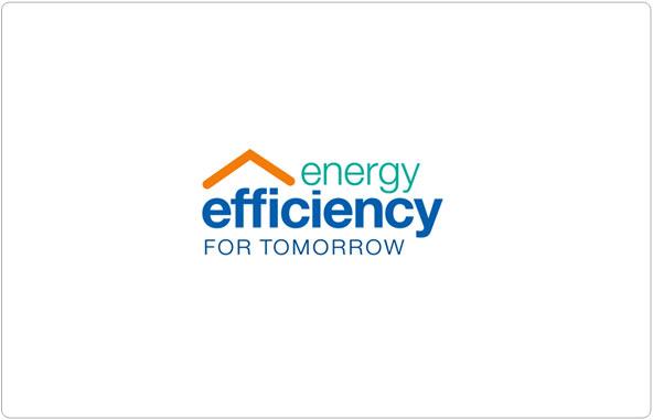 Energy Efficiency for Tomorrow Logo Design