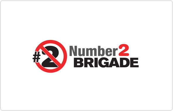 Number 2 Brigade Logo Design