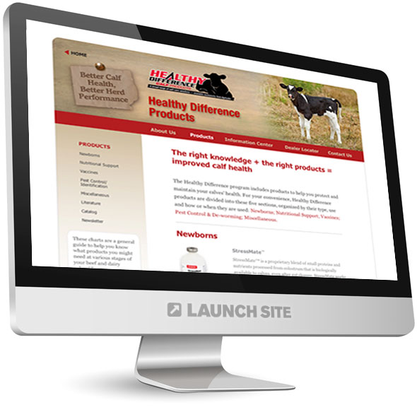 Custom Web Design AgriLabs 2