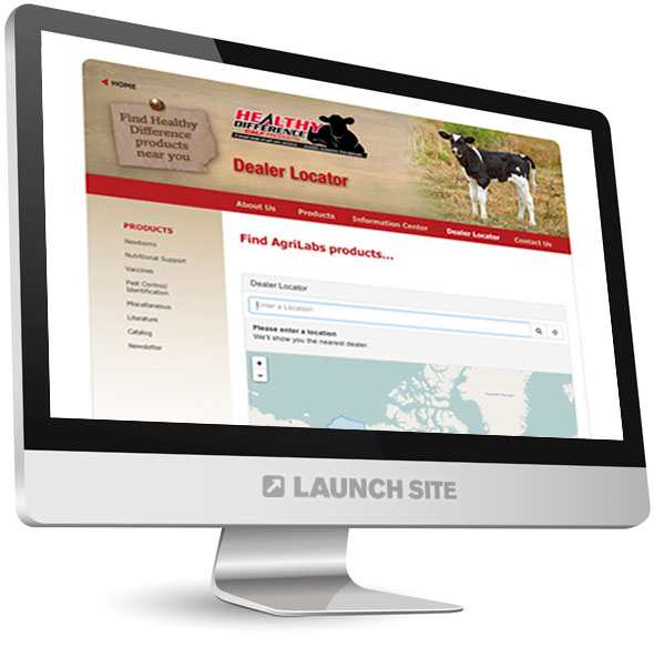 Custom Web Design AgriLabs 3