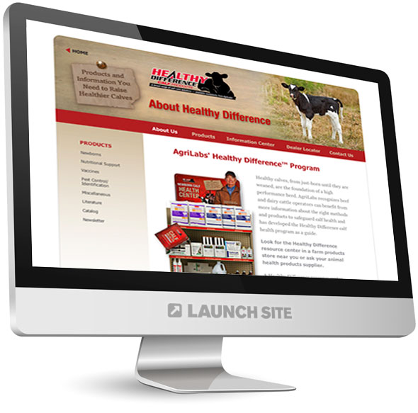 Custom Web Design AgriLabs 4