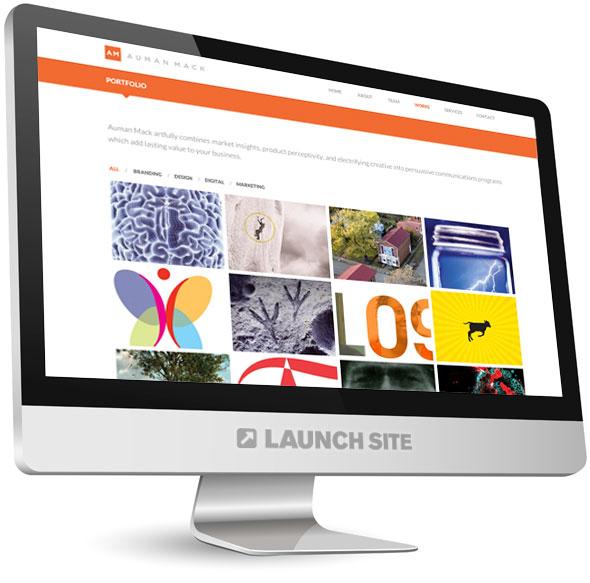 One Page Responsive WordPress Design 3