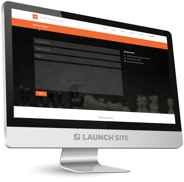 One Page Responsive WordPress Design 4