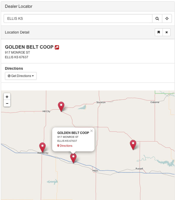 Bootstrap Dealer Locator 4
