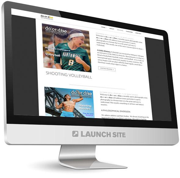 Wordpress Photography Blog Design 2