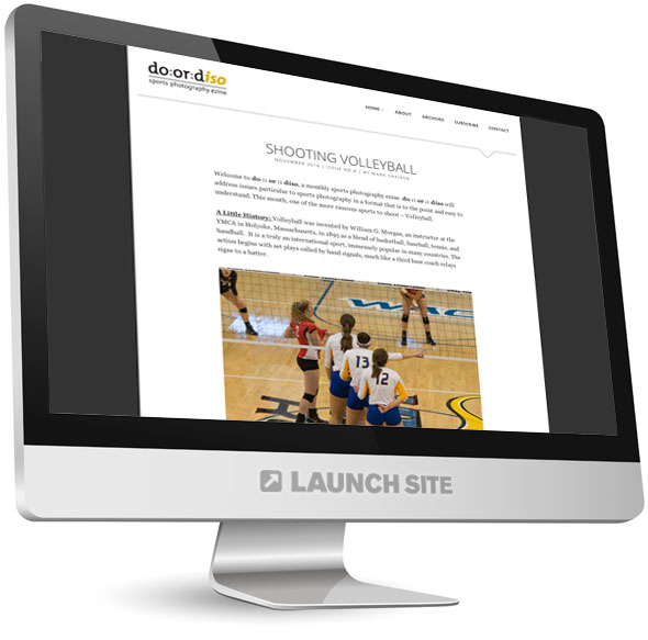Wordpress Photography Blog Design 3