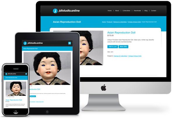 Responsive WordPress Design With Ecommerce - JDL Studio Online