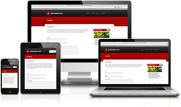 Responsive Web Design JDL Studio