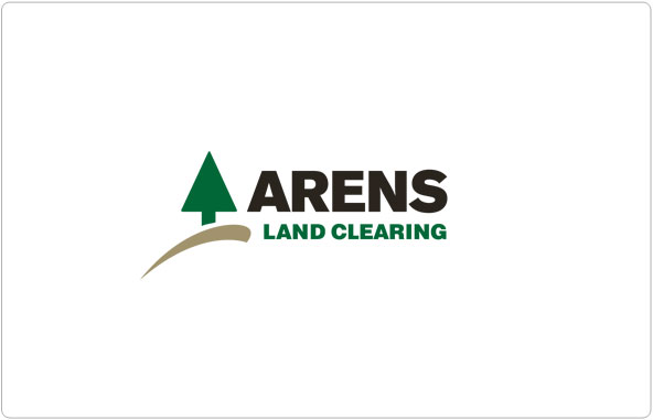 Land Clearing Logo Design