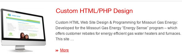 Custom HTML Web Design With PHP - JDL Studio Design