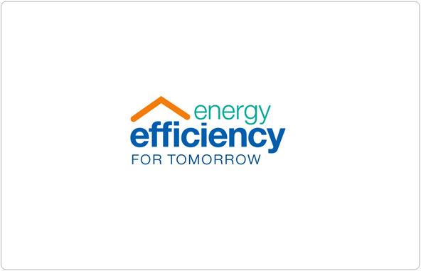 Energy Efficiency for Tomorrow Logo Design