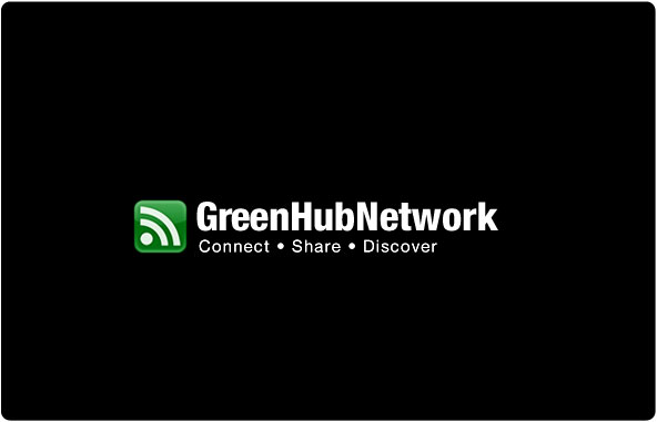 Greenhub Network Logo Design