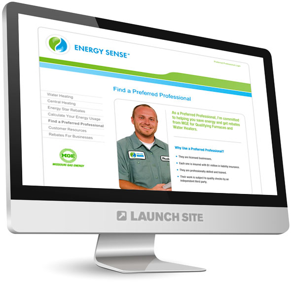 HTML Web Design Missouri Gas Energy 2
