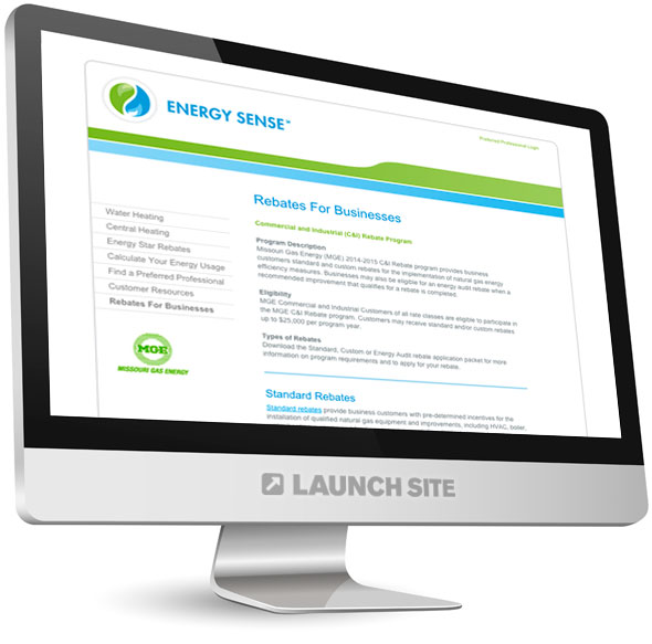 HTML Web Design Missouri Gas Energy 3