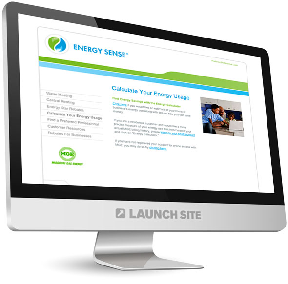 HTML Web Design Missouri Gas Energy 4