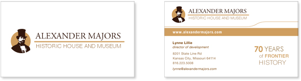 Alexander Majors Business Card and Logo Design
