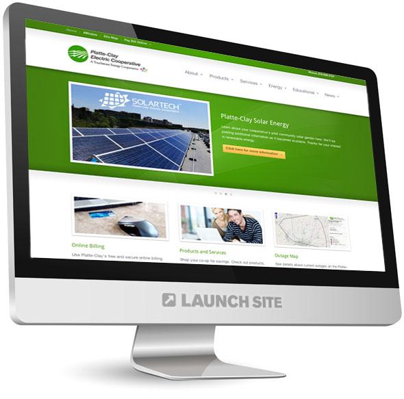 Custom WordPress Design Platte-Clay Electric 1