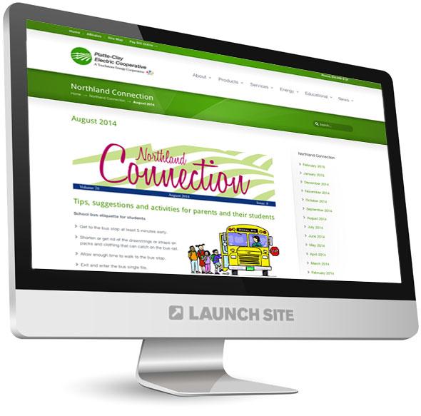 Custom WordPress Design Platte-Clay Electric 4