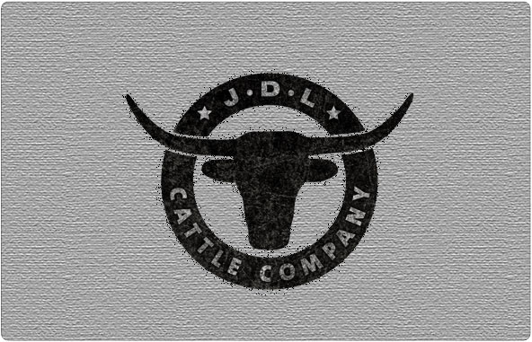 JDL Cattle Company Logo Design