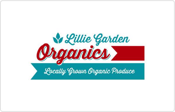 Lillie Garden Organics Logo Design